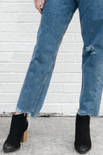 Reworked Cropped 550 Levi's Jeans (Sz 30)