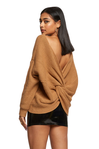 Paige Sweater – Toffee