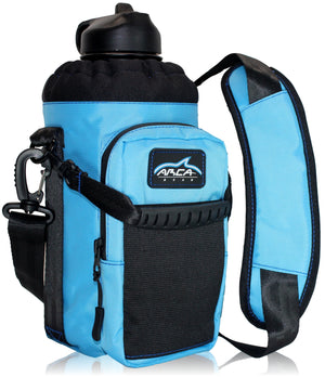Arca Gear 64 oz Hydro Carrier - Water Bottle Holder With Shoulder Strap