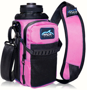 Arca Gear 32 oz Hydro Carrier - Water Bottle Holder With Shoulder Strap