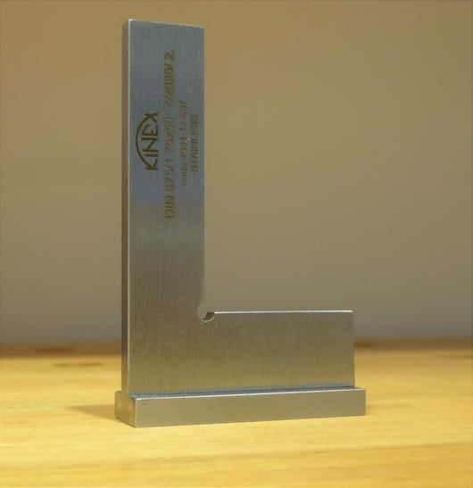 Kinex stainless steel precison try square from Canadian Distributor Northwest Passage Tools
