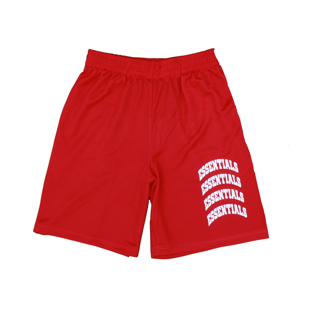 Essentials Shorts Red