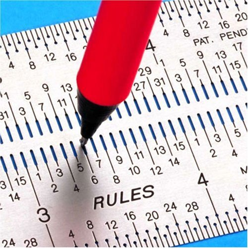 Incra IRSET12 12-Inch Marking Rule Set