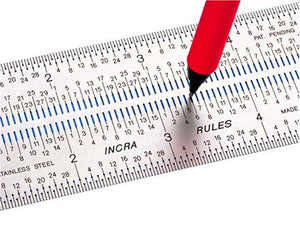 Incra RULE12 12-Inch Incra Rules Marking Rule