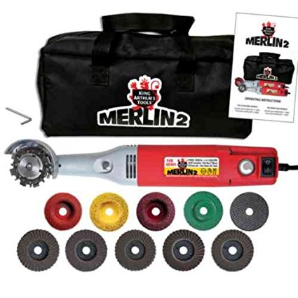 T27201 Merlin 2 Premium, 110V Variable-Speed Mini-Angle Grinder