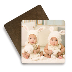 Personalised Wooden Square Coasters
