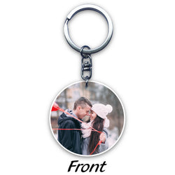 Circular Acrylic Key Ring (2-sided print)