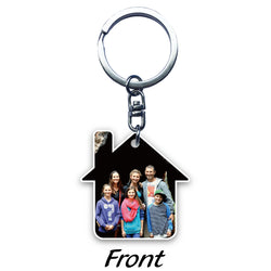 House Acrylic Key Ring (2-sided print)