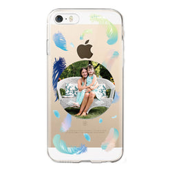Personalised Clear Phone Case (iPhone 5/5s/SE)