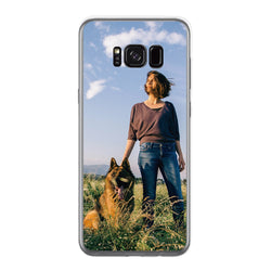 Personalised Clear Phone Case (Samsung S8+)