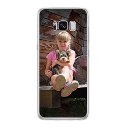 Personalised Clear Phone Case (Samsung S8)