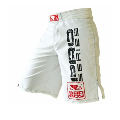 Bad Boy Pro Series Jiu Jitsu Shorts - White