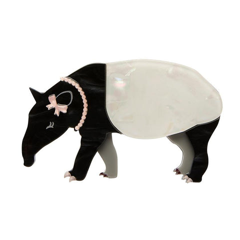 Tabitha the Tapir Brooch