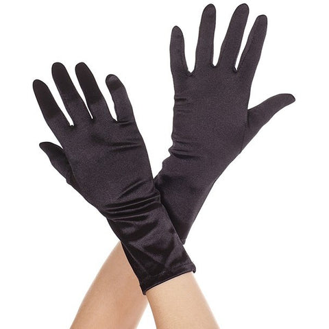Wrist Length Gloves Black