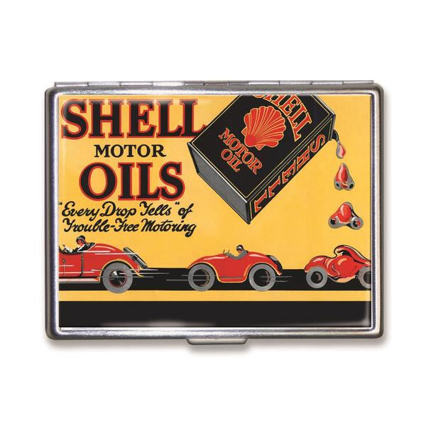 Shell Motor Oils Wallet Case