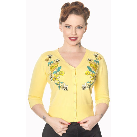 Bumble Cardigan Yellow