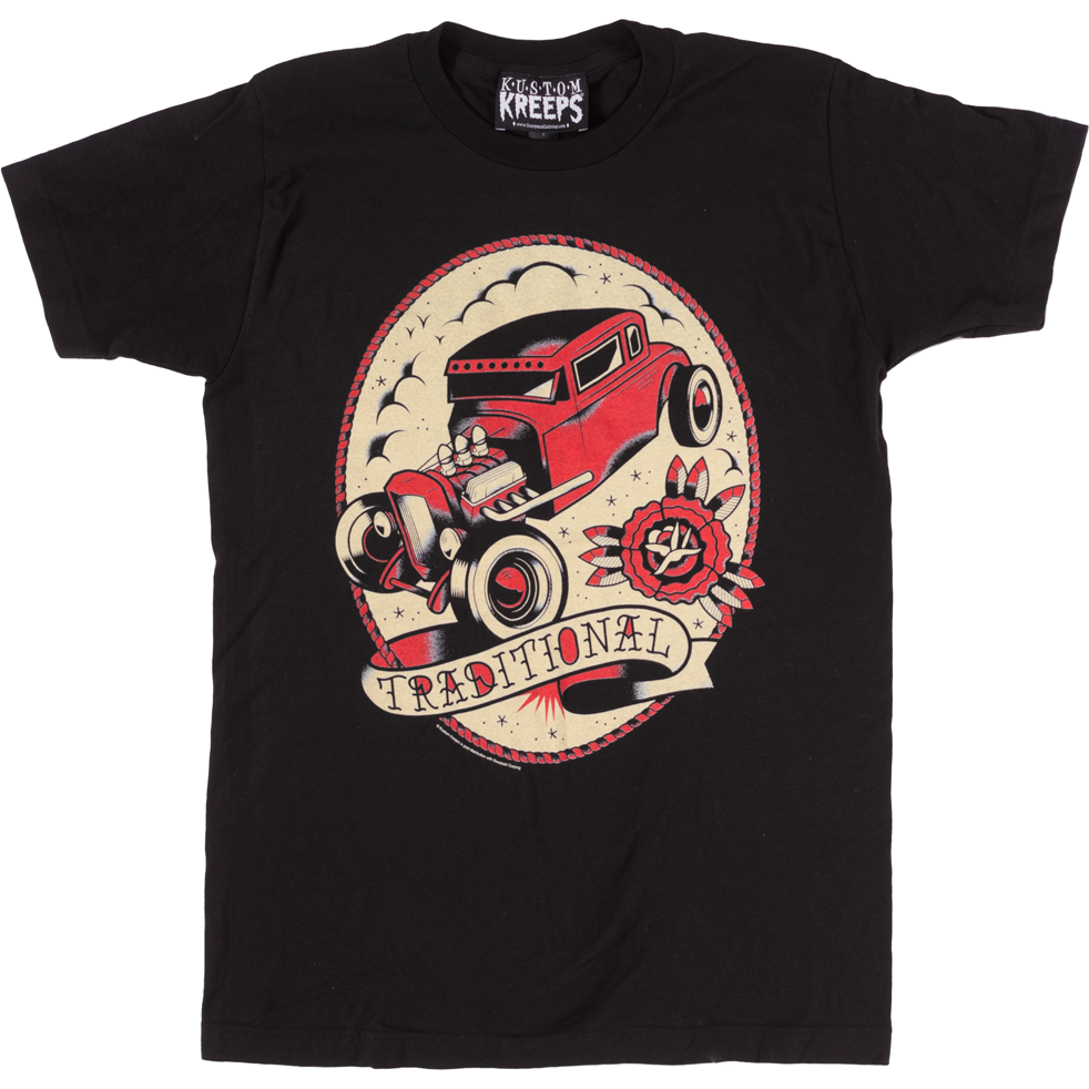 KUSTOM KREEPS TRADITIONAL GUYS TEE - Size M Last One!