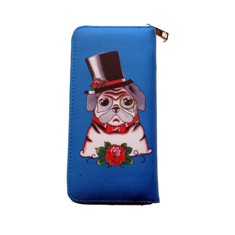 Dapper Pug Wallet