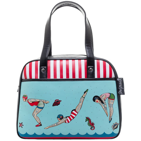 SOURPUSS TATTOOED DIVERS BOWLER BAG