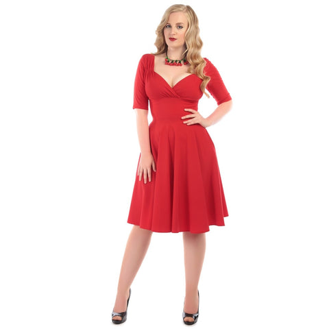 Trixie Doll Dress Red