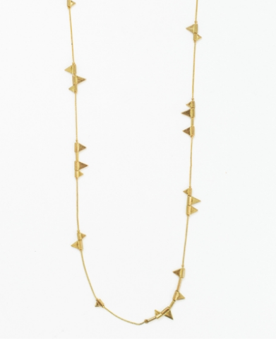 Zander Necklace in Gold