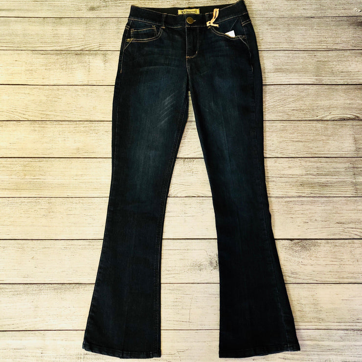 Ab Solution Boot Cut Dark Wash