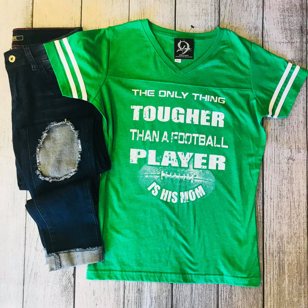 Tough Football Mom Tee