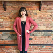Spice Duster Cardigan with Pockets