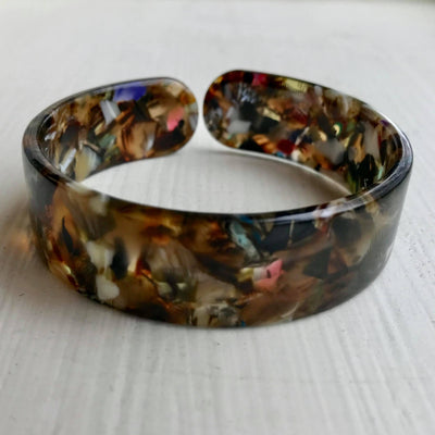 Tortoise Shell Bracelet -Browns