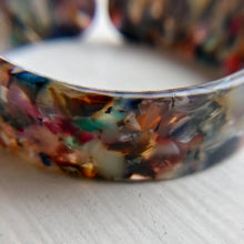 Tortoise Shell Bracelet -Blues