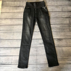 Charcoal High Waist Jegging