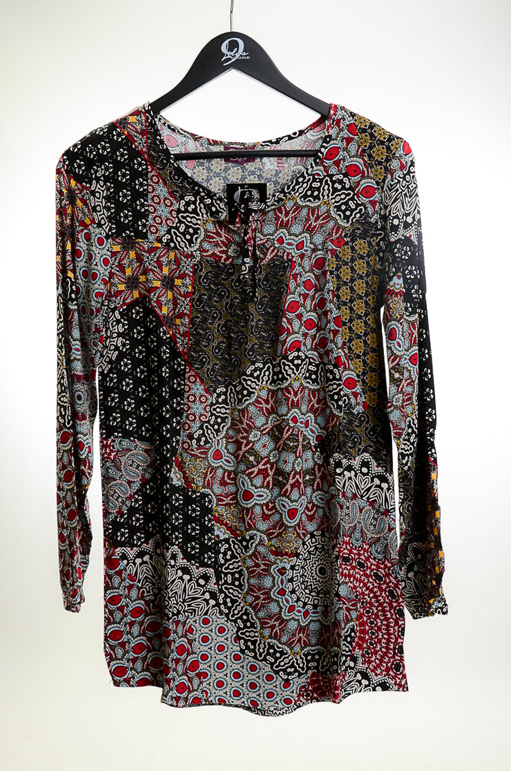 Geometric Love Tunic
