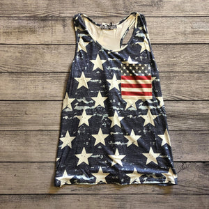 Flag Pocket Tank
