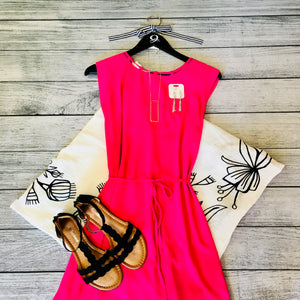 Fuchsia Hi-low Dress
