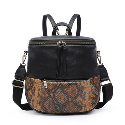 Python Versatile Backpack-Purse-Jen & Co.-9Lilas