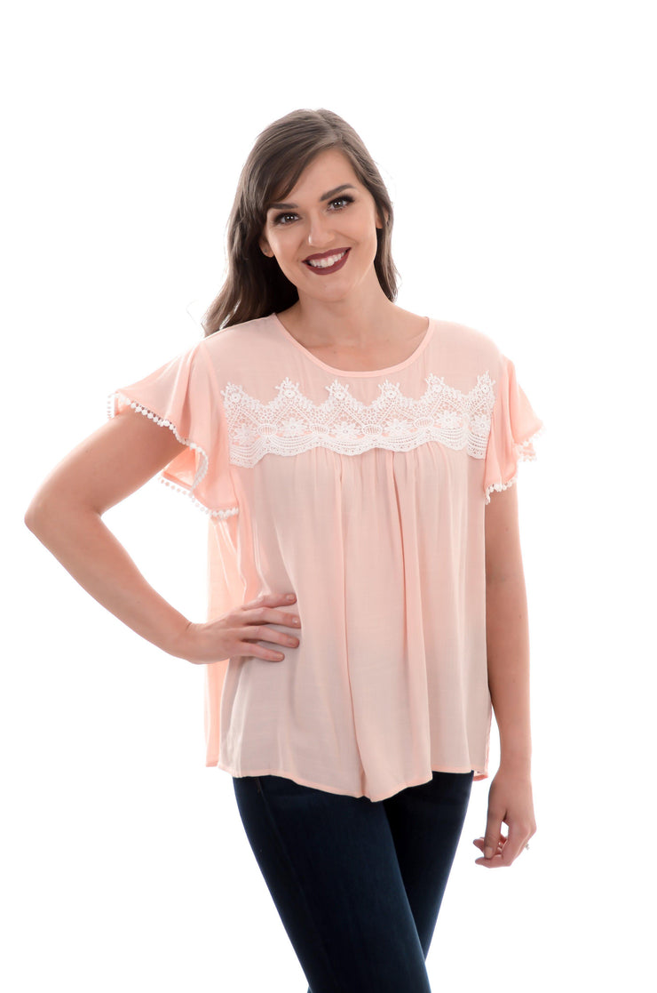 Babydoll Lace Top-Top-9Lilas