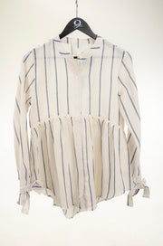 Striped Woven Top