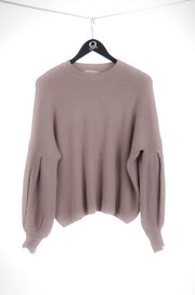 Dusty Lilac Knit Sweater
