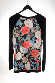 FALL Floral Baseball Tee Tunic