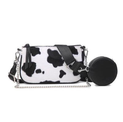 Cow Print Crossbody