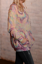 Tie-Dye Burst Pocket Tunic S-3X