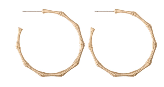Metal Bamboo Hoops