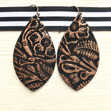 Leather Earrings - Medium