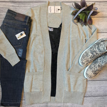 Gray Sweater Cardigan