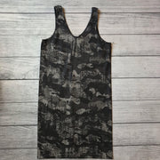 Distressed Camo Tunic Tank