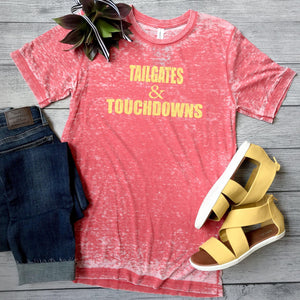 Tailgates & Touchdowns - Red