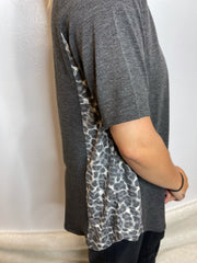 Leopard Side Panel Top