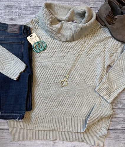 Gray Gatsby Sweater