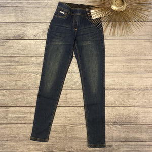 Classic Dark Pull On Denim