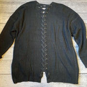 Lace-Up Back Cardigan-Cardigan-perch-XL-9Lilas